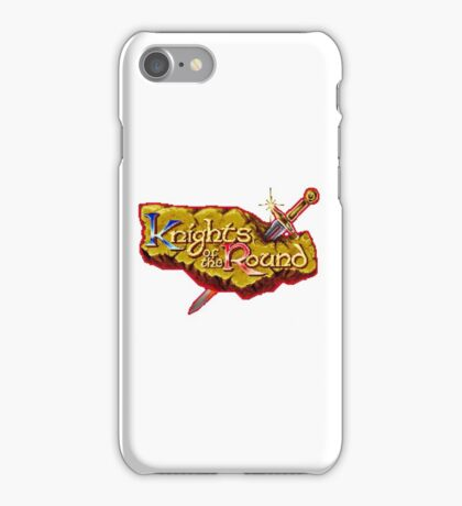 Knights of the Round - SNES Title Screen iPhone Case/Skin
