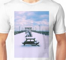 Snow Comes To The Beach Unisex T-Shirt