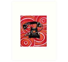 1930s Rotary Phone Art Print