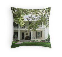 Hector.C. Haight House/Union Hotel Throw Pillow