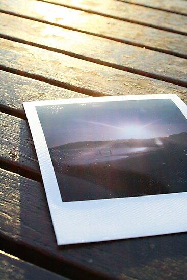Polaroid on the deck by miametro