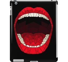 shattered glass mouth  iPad Case/Skin