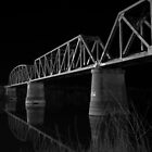 Murray Bridge BW  by Dave  Hartley
