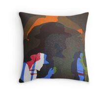 Ahab (from Meditations on Moby Dick) Throw Pillow
