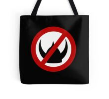 Crossed Out Viking Tote Bag