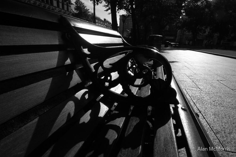 City Hall Bench by Alan McMorris