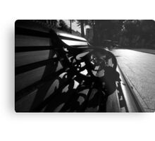 City Hall Bench Metal Print