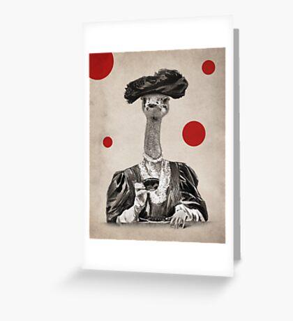 Anthropomorphic N°1 Greeting Card