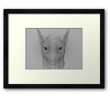 cat Framed Print