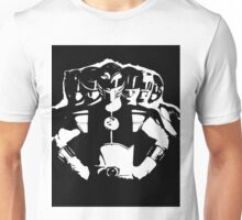 Mighty Morphin Power Rangers 2 Black/White Unisex T-Shirt