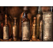 Pharmacist - Medicine for Asthma and Pain  Photographic Print