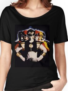 Mighty Morphin Power Rangers 2 Women's Relaxed Fit T-Shirt