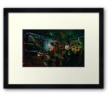 Opening With The Blues, Fitzroy Hotel Framed Print