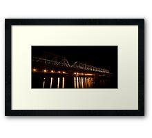 Train De-light Framed Print