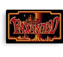 Faxanadu Canvas Print