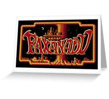 Faxanadu Greeting Card