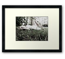 Don't wake me up Framed Print