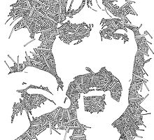 Garabato Frank Zappa by JeffBowan