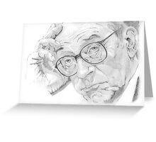 Alan Greenspan 2 Greeting Card