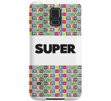 Super - A superhero themed simple design Samsung Galaxy Case/Skin