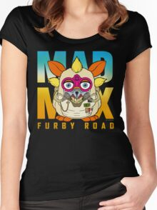 Mad Max: Furby Road Women's Fitted Scoop T-Shirt
