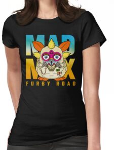 Mad Max: Furby Road Womens Fitted T-Shirt