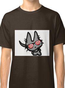 Kitty's Fun Hypno Glasses Classic T-Shirt