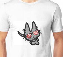 Kitty's Fun Hypno Glasses Unisex T-Shirt