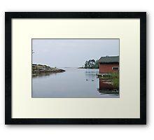 Bear Creek in Callander Framed Print