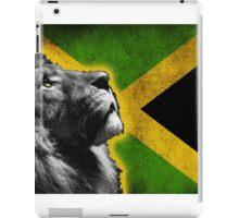jamaican lion iPad Case/Skin