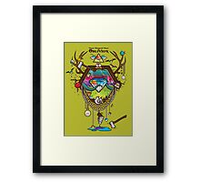 These Diamond Days of Oblivion Framed Print