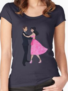 Are We Dancing?  Women's Fitted Scoop T-Shirt