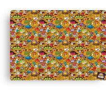 Psychedelic Apples of Death Canvas Print