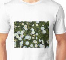 White Daises Unisex T-Shirt