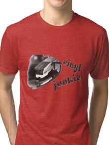 Vinyl Junkie Tri-blend T-Shirt