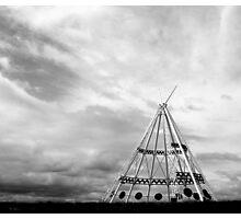 Giant TeePee Photographic Print