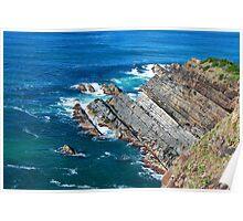 Forster's Rugged Coastline - NSW Australia Poster