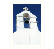 Bell Tower, Greece Art Print