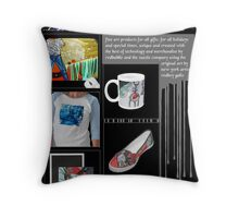 fineart ideas for gifts Throw Pillow