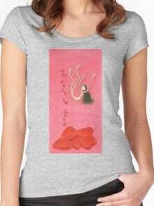 to fall in love Women's Fitted Scoop T-Shirt