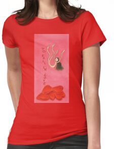 to fall in love Womens Fitted T-Shirt