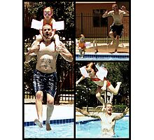 Crazy Summer Fun Photographic Print