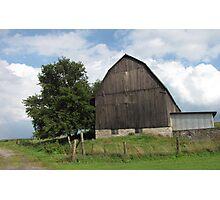 Country Barn Photographic Print