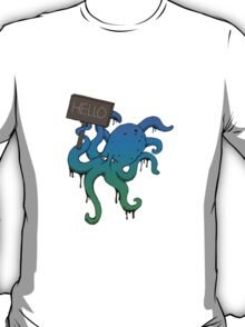 hello my name is octopus... T-Shirt
