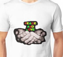 peace and love offering Unisex T-Shirt