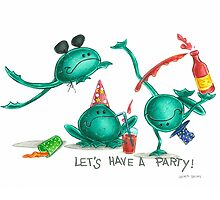 frogs party by Laura Bruni