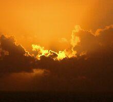 Sunset in Santa Cruz by Prates