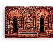 Kalemegdan Fortress Church Saint Petka Canvas Print