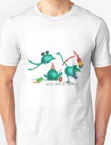 frogs party Unisex T-Shirt