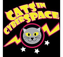 Cats in Cyberspace Photographic Print